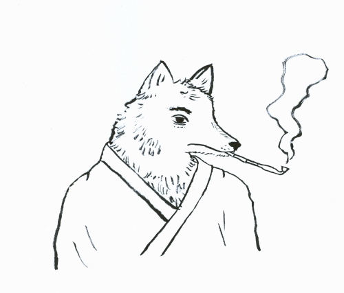 Hello, I'm Mr. Fox (Kitsune san) and I live in Edo, Japan. I'm following Angela's travels and I hope you will too.