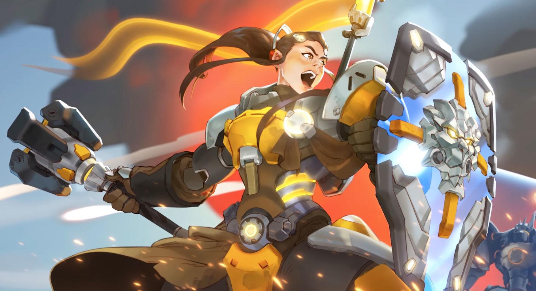 Brigitte, Blizzard,   Play Overwatch