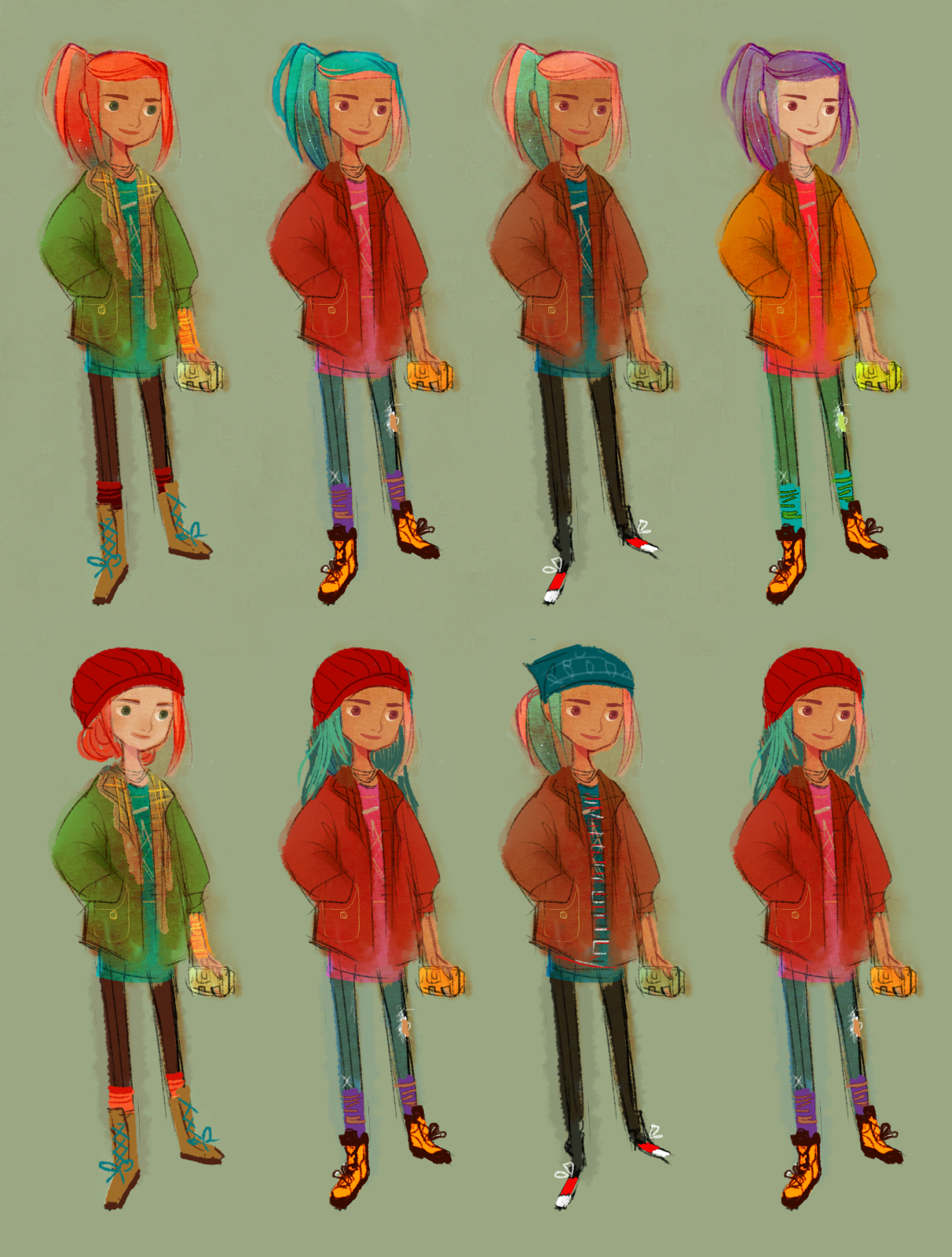 "Alex Concepts ""Oxenfree"""