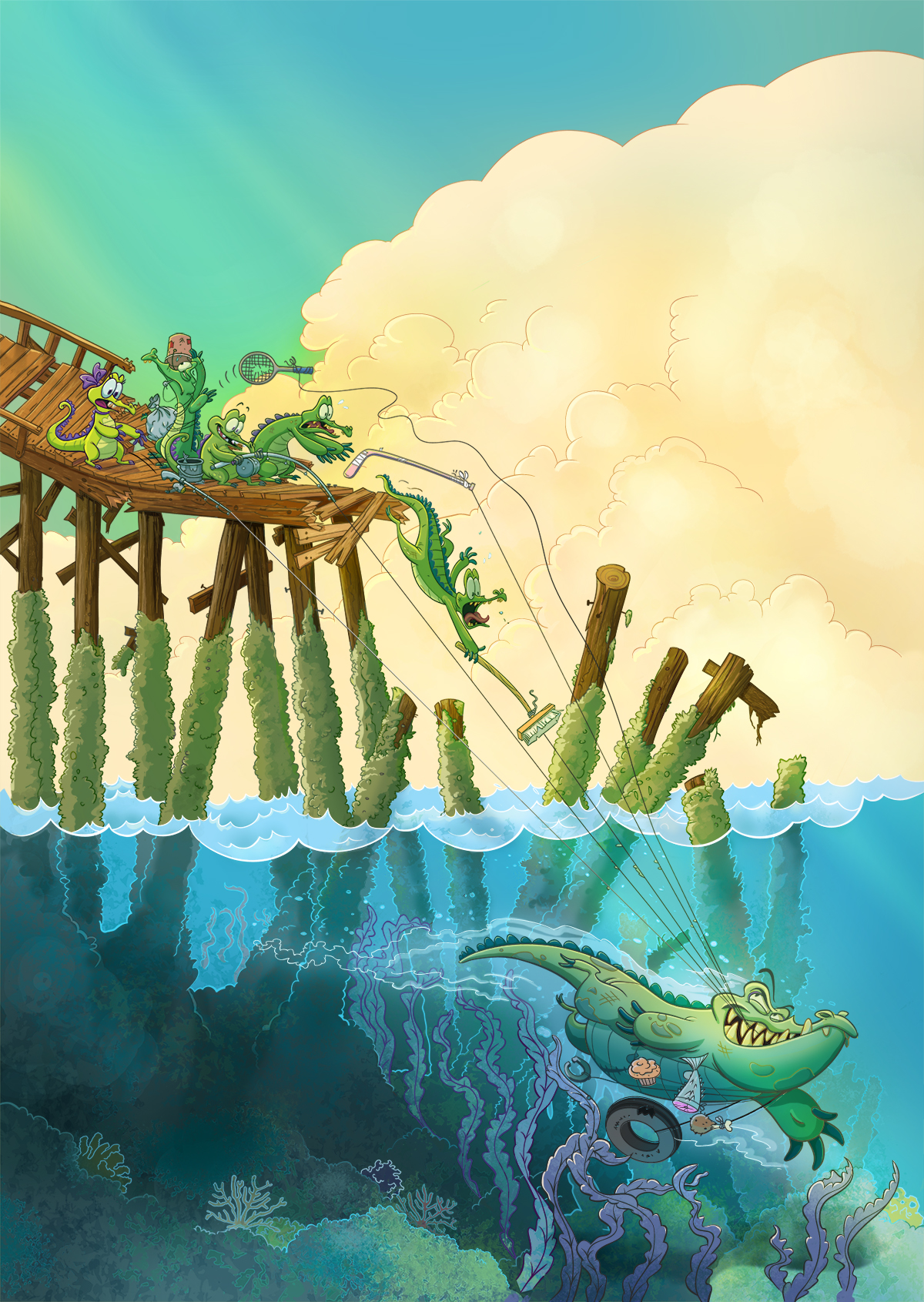 "Cranky's Intro ""Where's My Water"""