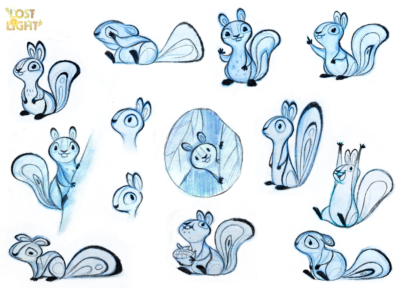"Lost Light Squirrel ""SumSum"" Concepts"