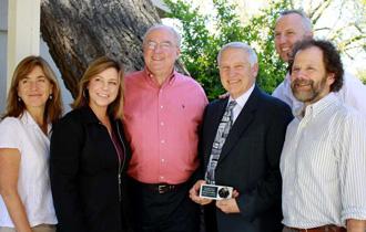 Left to right: Kirsten Gilardi, Jonna Mazet, Gary Davis, Bennie Osburn, Joe Gaydos, Walter Boyce.