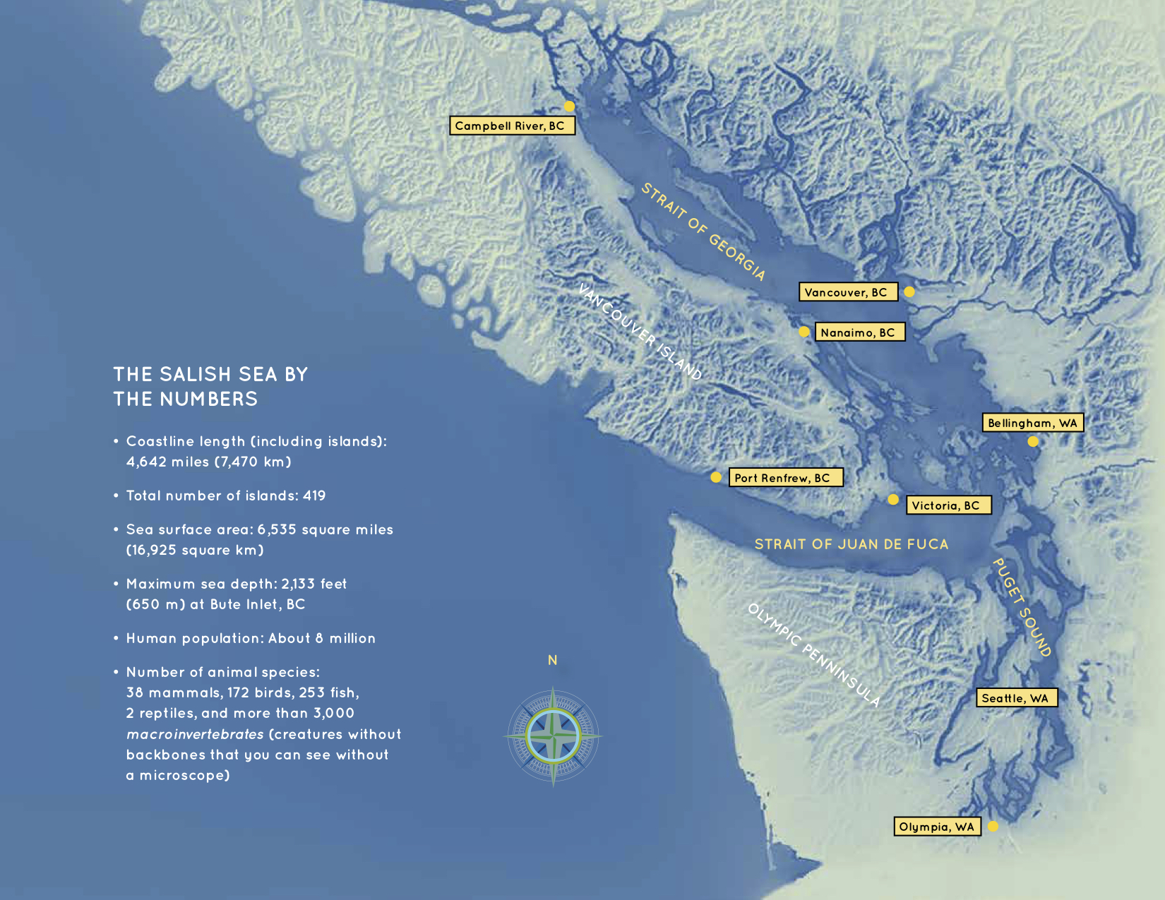 Map via   Explore the Salish Sea: A Nature Guide for Kids