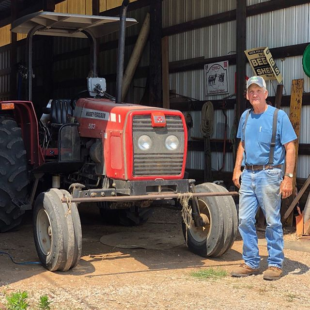 "Since we've gained new followers over the last few months, we thought we would throw it back to our very first introduction post featuring Roger Beegle ⏮ . ""I've had my fair share of life, and I would take rolling hills over buildings any day."" - Hi friends, let us introduce you to Roger. Born and raised in Dorcas, Ohio, Roger started working on the farm in the 3rd grade. At just 29 years old, he took over his grandfather's farm full-time. - Today, Roger is a 77-year-old farmer in Racine, Ohio. He still works 6 am-8 pm, 7 days a week planting grain and raising cattle. In his little free time, Roger loves to cheer on the local Southern Tornado sports teams. Appalachians, meet Roger! - #WeAreAppalachia #IntroNumber1 #introducingappalachia #community #rollinghills #farmer #southernohio #togetherwecan #thebeginning #launching #Appalachia #inspireappalachia #risingappalachia #flashbackfriday"