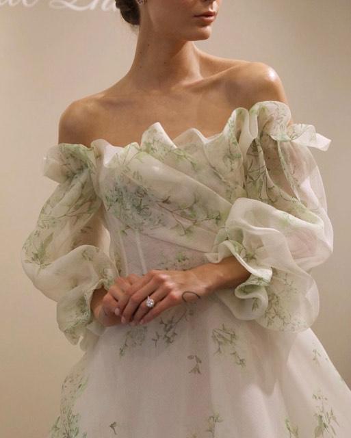Monique L'Huillier Spring 2020 Bridal