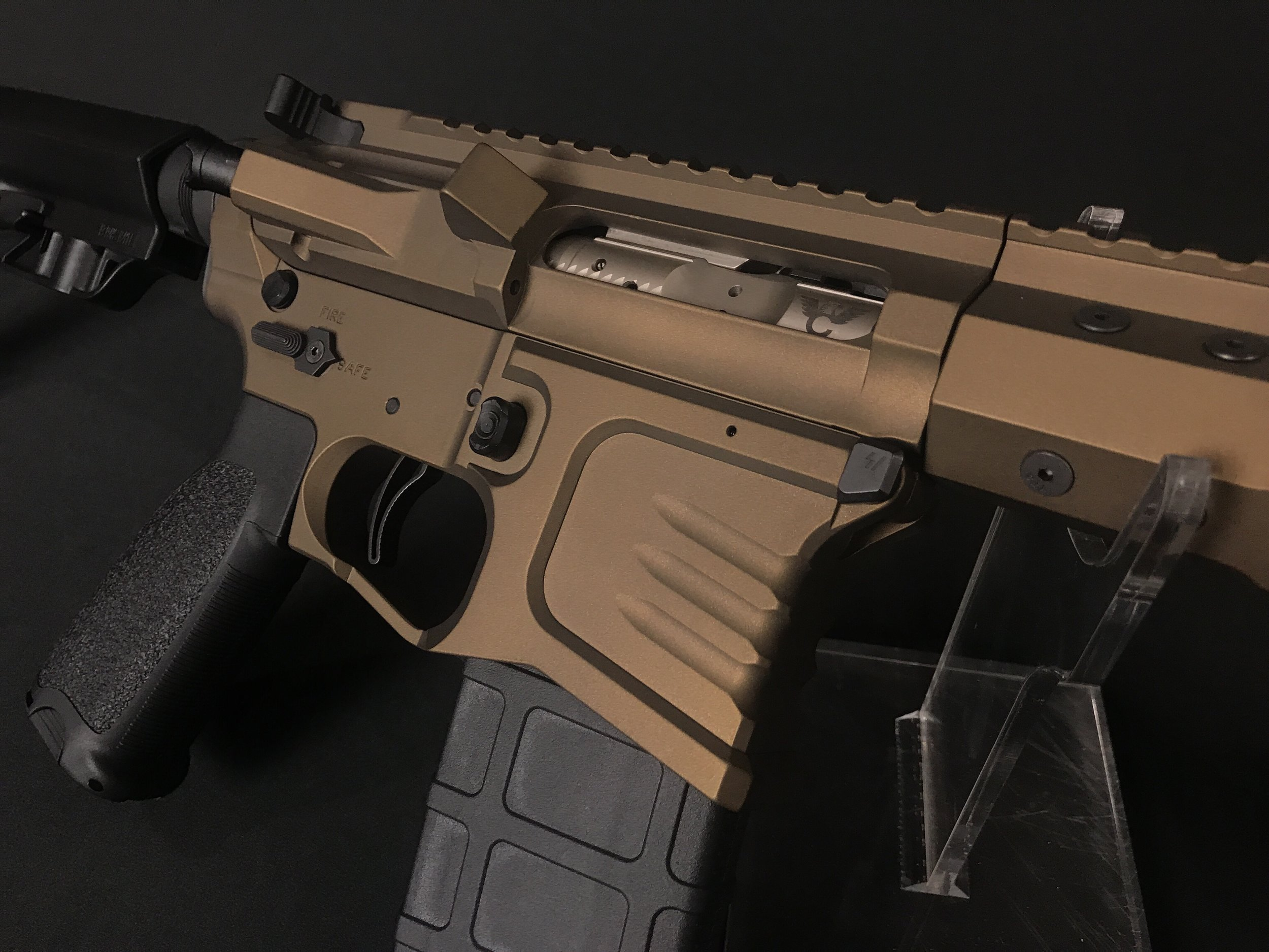 Custom Burnt Bronze