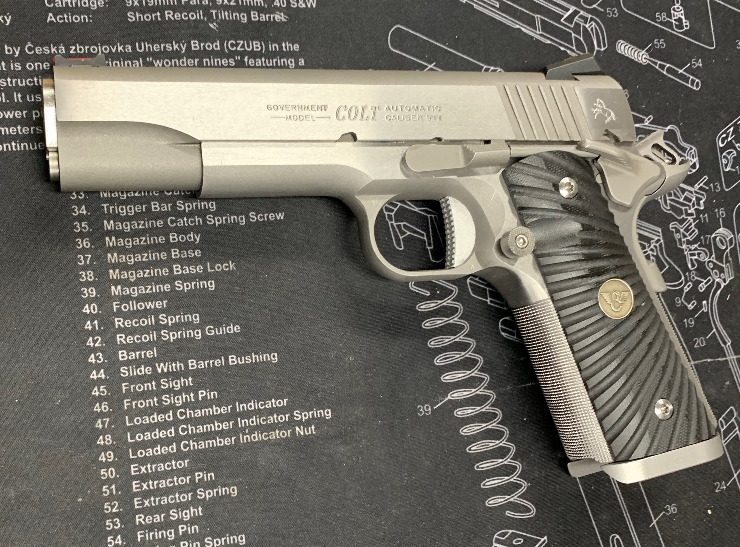 Customizing the Colt Competition 1911 9mm for Accuracy — Stonebridge