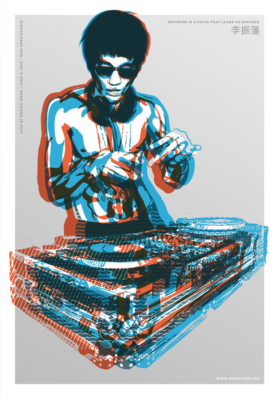 Bruce is my DJ -