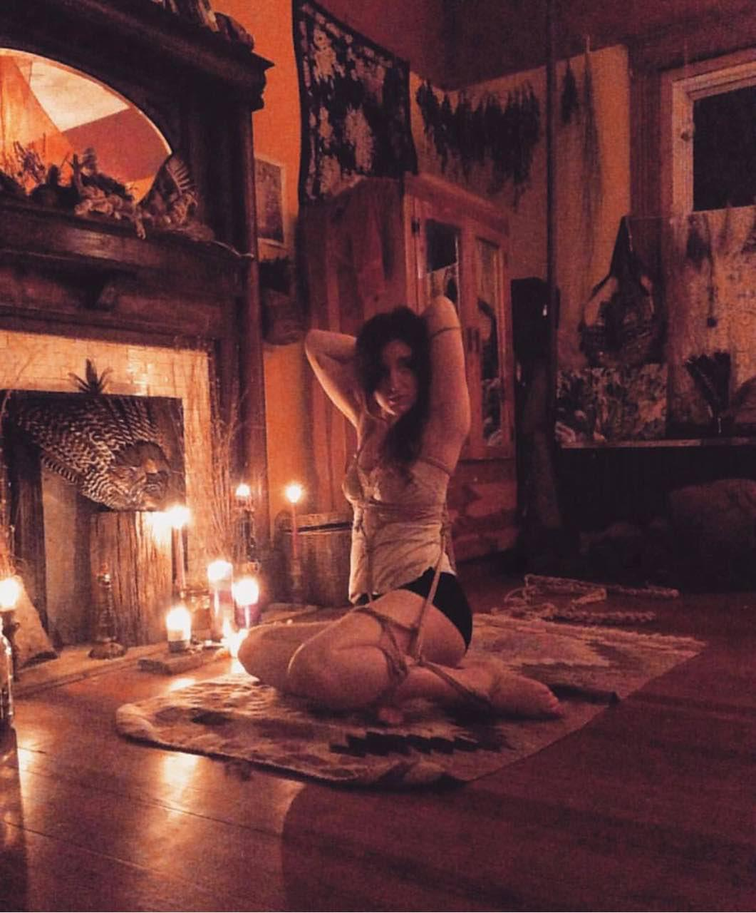 Old photo of me in my old bedroom where Pussy Witch was birthed!