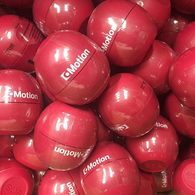 *Oprah voice* YOU get a lip balm! YOU get a lip balm! EVERYONE gets a CoMotion lip balm!!!! • • • • • #eoslipbalm #sogood #selfpromo #comotion