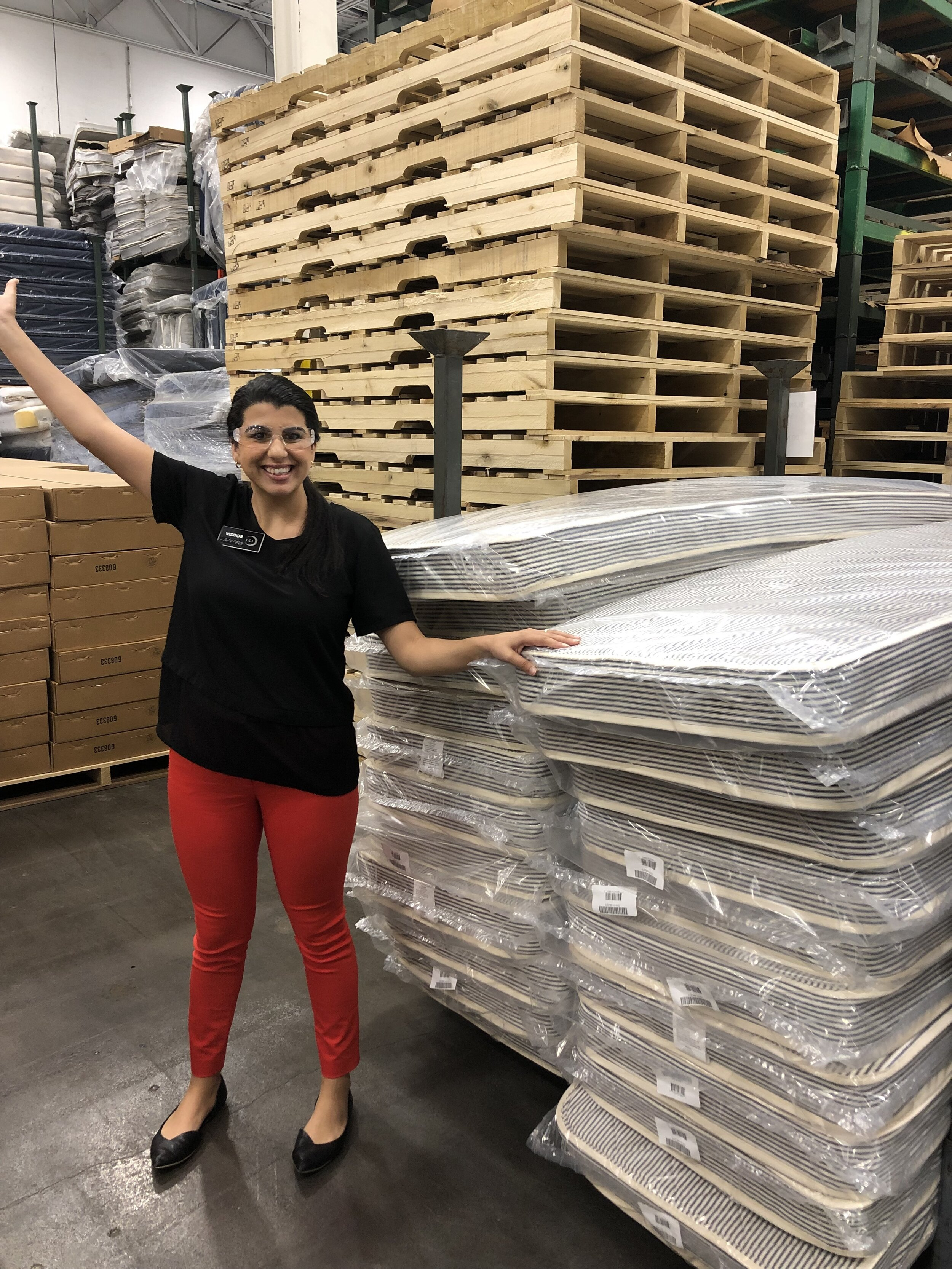 Manufacturing is where LCI started, and remains a core part of our identity. We manufacture products ranging from mattresses and file folders to chemical lightsticks. Our portfolio comprises over 2,000 unique products, supported by six facilities with over 750,000 square feet of space. All of it is dedicated to employing and empowering people who are blind.