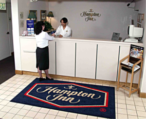 CUSTOM DESIGN                LOGO MATS         Sizes: 3x5 / 4x6 / 3x10