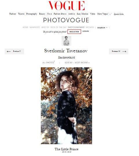 Svetlomir Tsvetanov's work in photoVogue