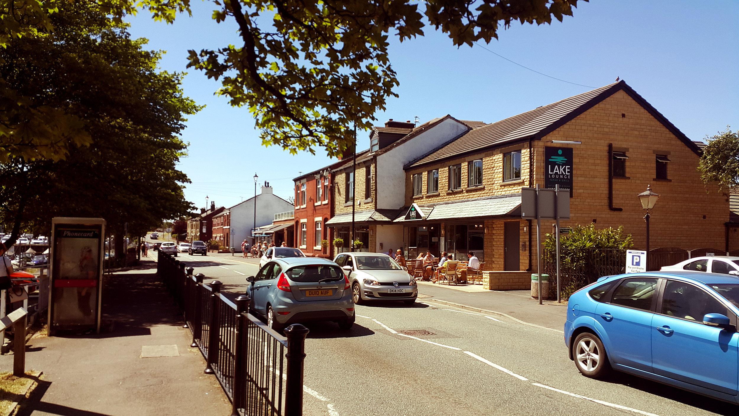 A street view in Littleborough, Rochdale