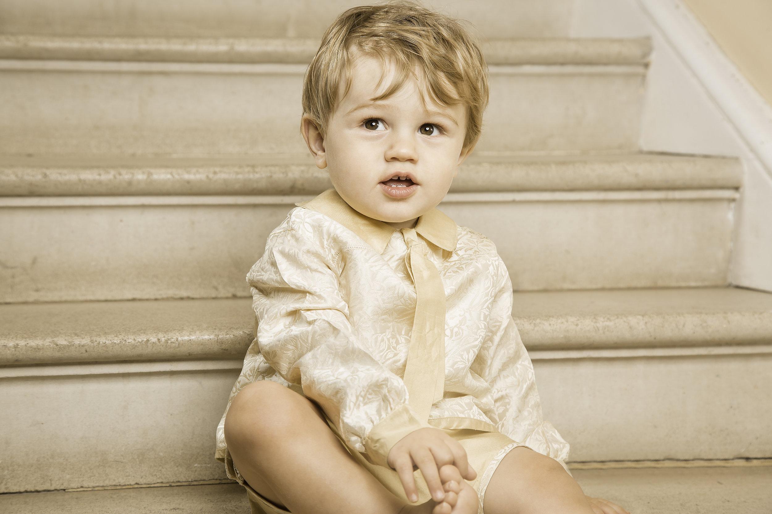 Little Finn looking all dapper