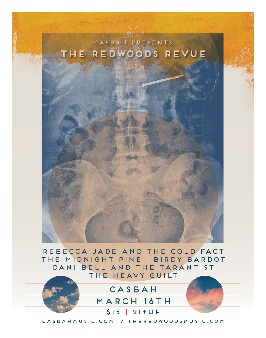 THE REDWOODS REVIEW CASBAH POSTER