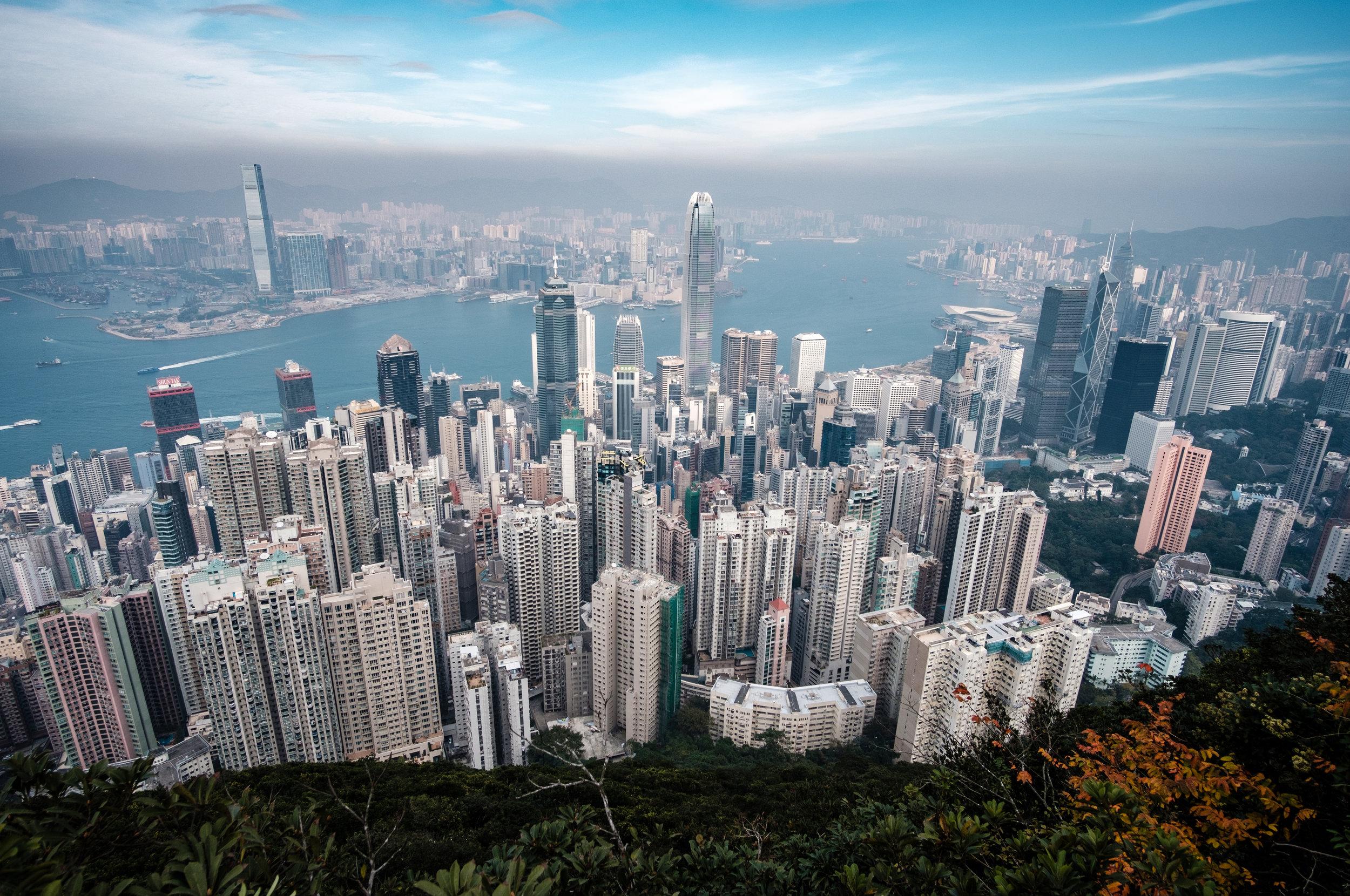 Hong Kong - Grudzień 2017