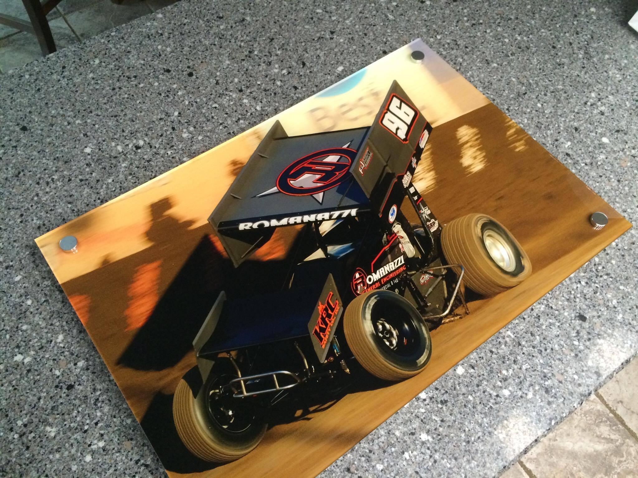 "Luca Romanazzi 24"" x 36"" acrylic print"