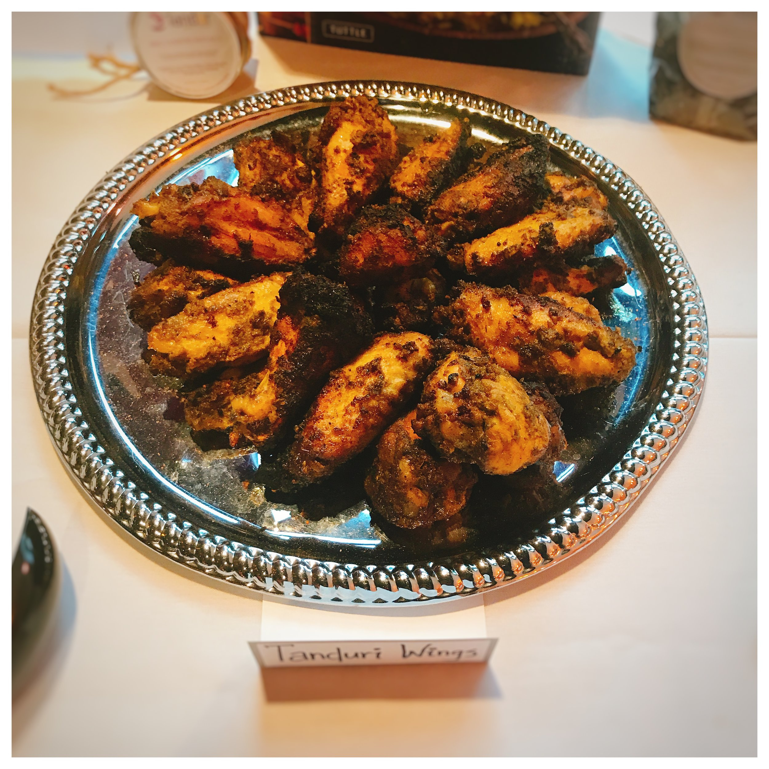 Tanduri Baked Wings - These wings were spot on in my opinion. They are cooked in the Tandoor Oven so you get the perfect char and smokiness that one could only hope for. You can definitely taste the authentic seasonings prepared in house on full display here. The wings are pricey, but they are large and prepared well. For those that don't like jumbo sized wings, they may not be for you - so just pass them my way please!