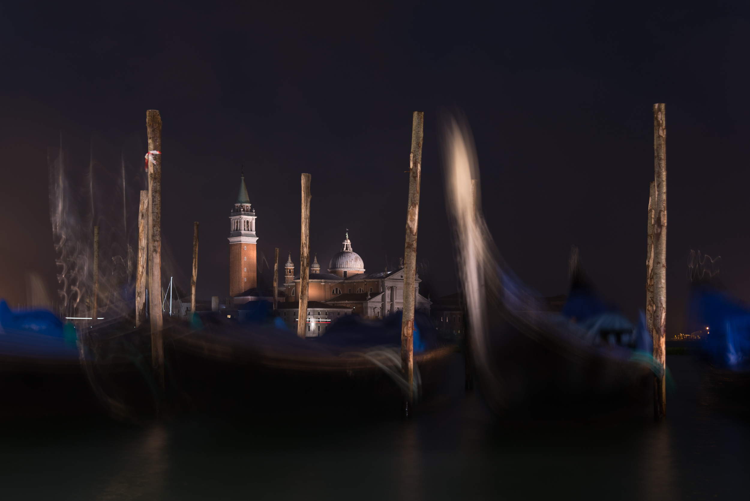 Night The Grand Canal, Venice