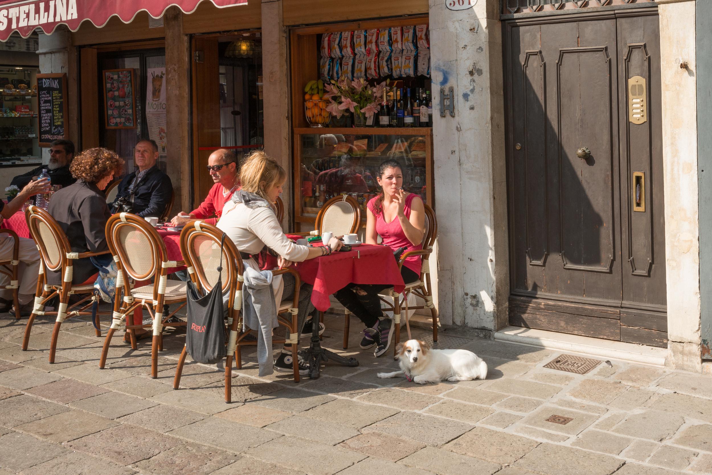 Afternoon Coffee Campo de la Becarie, Venice