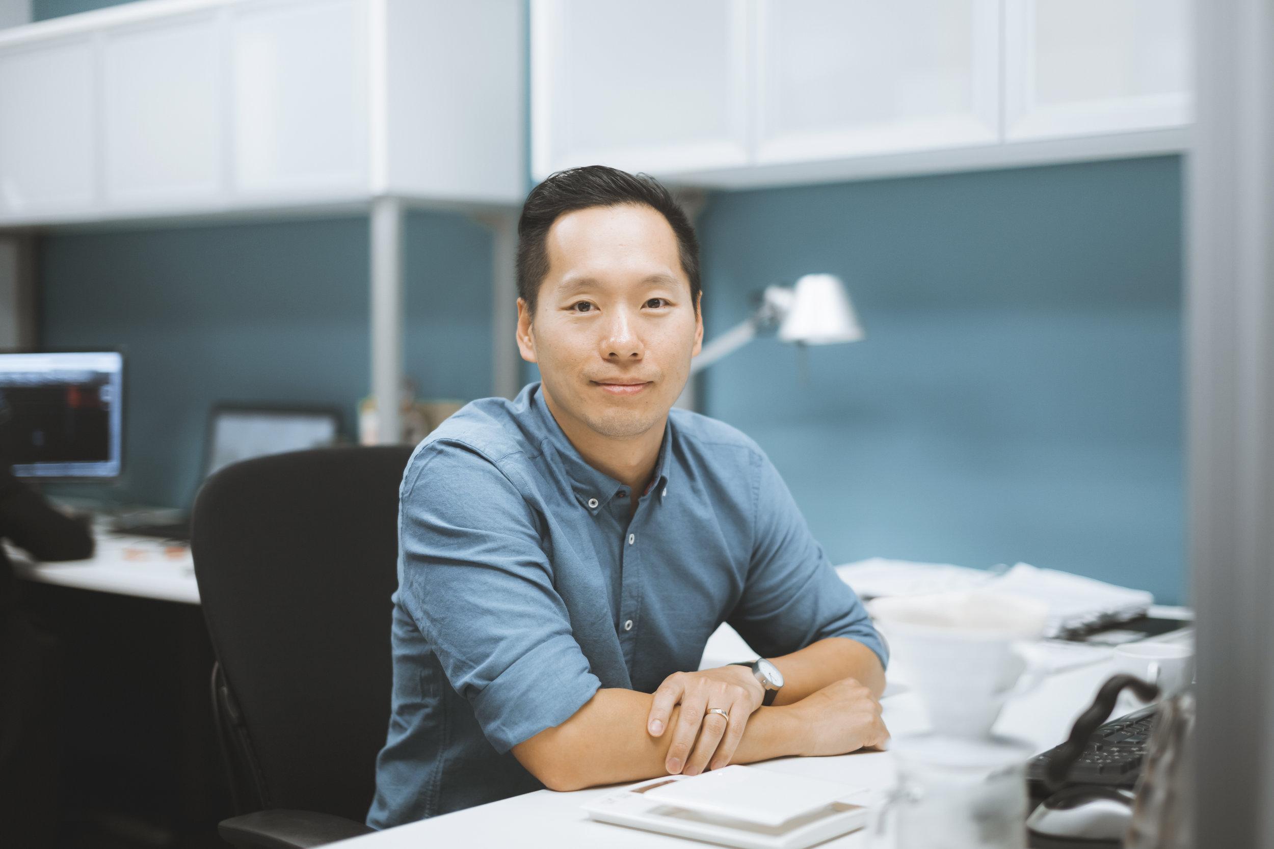 Gordon Chan Portrait