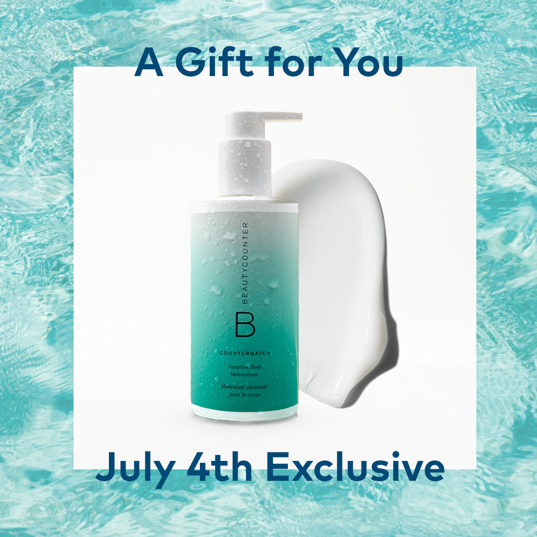 Spend $150 in product now through July 5 and get the Countermatch Adaptive Body Lotion FREE (a $39 value).