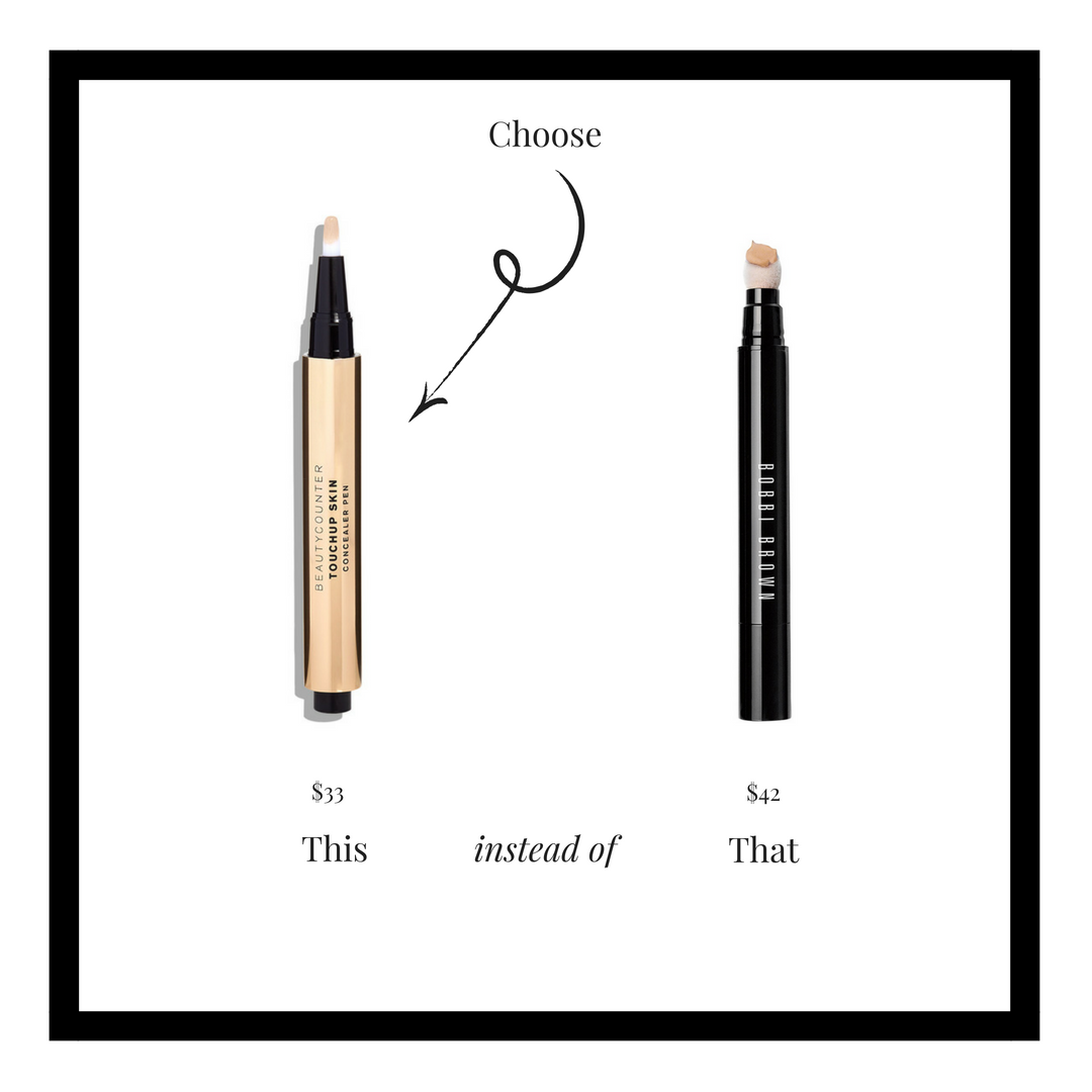Dark circles, redness, and other imperfections are no match for this buildable, medium-coverage concealer. In addition to providing flawless coverage, it's formulated with knotgrass extract to help reduce the appearance of fine lines and photoaging—so skin looks firmer, brighter, and instantly more even. Make the swap to something that is truly better for you.