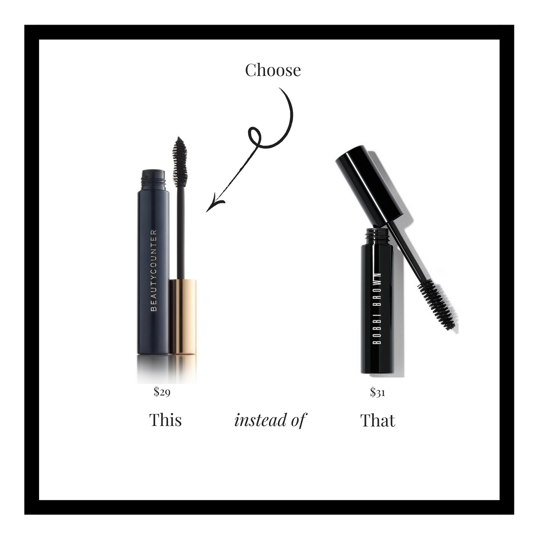 Made with natural fibers, this advanced formula increases volume by 385%* to create fuller, more dramatic-looking lashes. The hourglass brush curls, separates, and plumps for high-drama glam–without clumping, flaking or smudging. Cleaner, plant-derived ingredients, like carnauba wax and rice bran wax, replace harmful emollients, while bataua oil helps soften lashes.