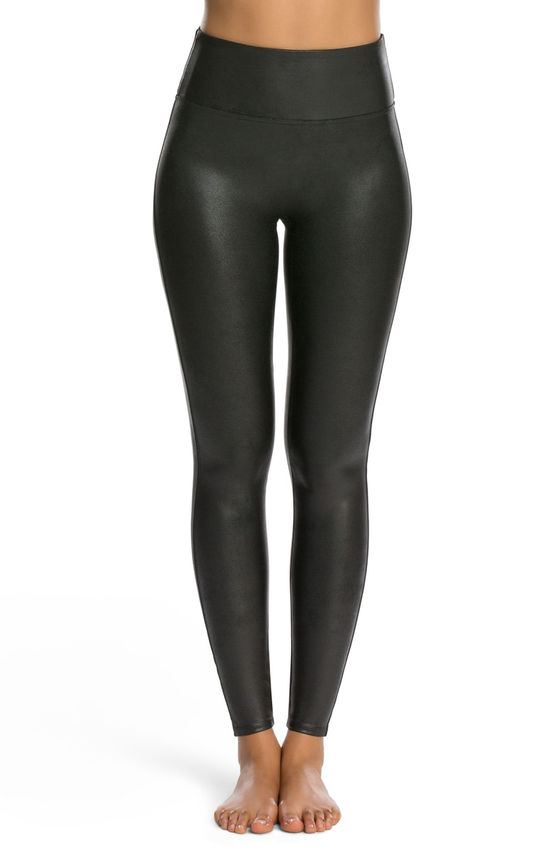 SPANX Faux Leather Leggings - $64 (Value $98)
