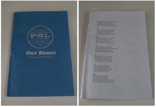 """""""Poetry is Our Second Language: Our Bones"""" (2015)"""