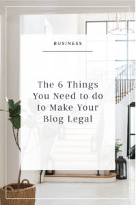 6 Things to make your business legal