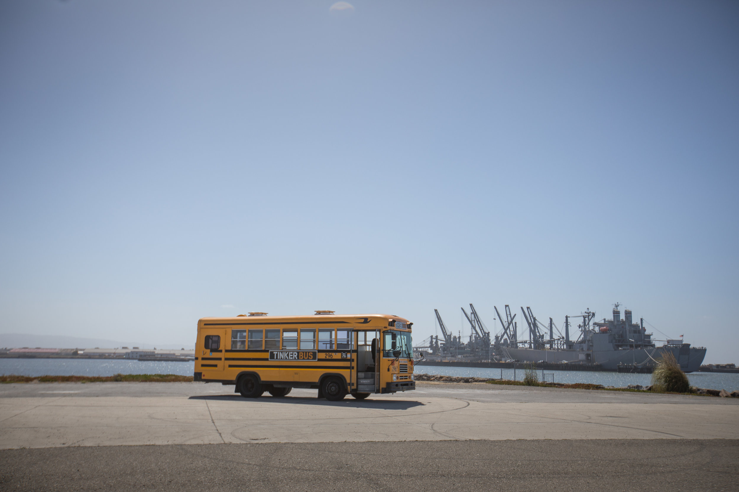 LEARN THROUGH PLAY   ALL ABOARD THE TINKER BUS