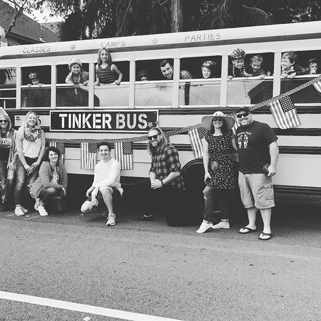 The Tinker Bus team is ready to roll.