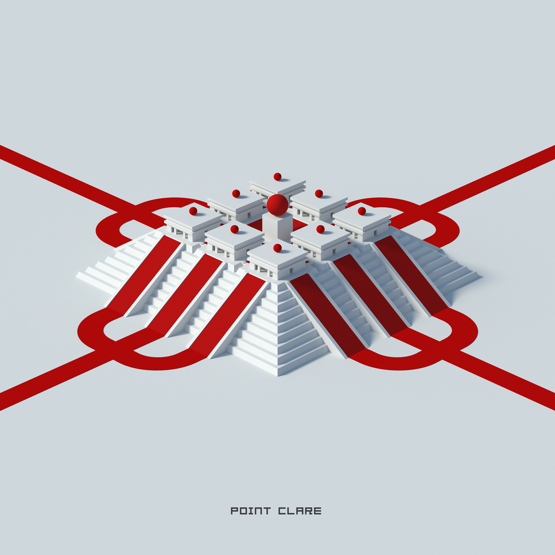 """FLATLANDS"" Album Art for Point Clare"