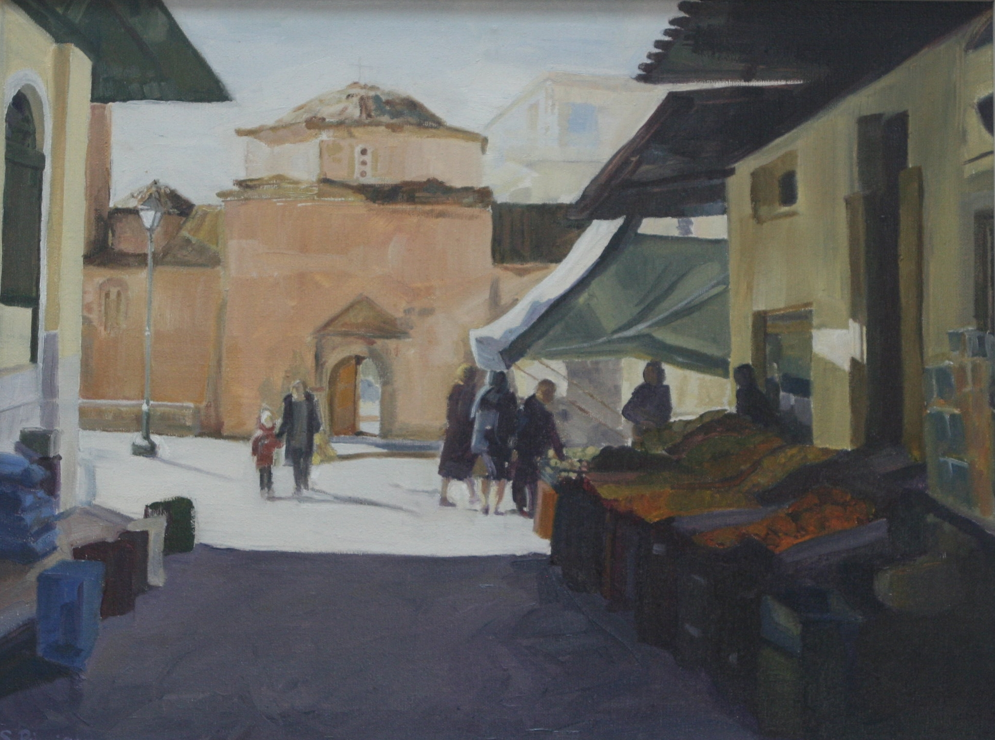 Town square, Kalamata