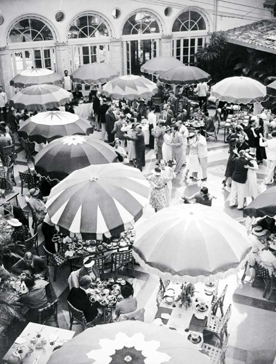 Vintage photo from a party at The Surf Club