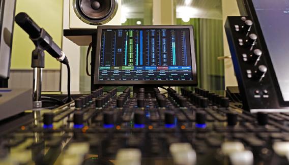 NJP Studio A Console AVID S6
