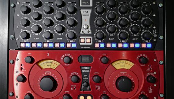 NJP Studio A Mastering SPL PQ & Iron
