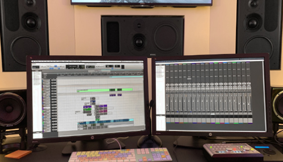 NJP Studio City Speaker PMC IB-2S-A & AVID Pro Tools