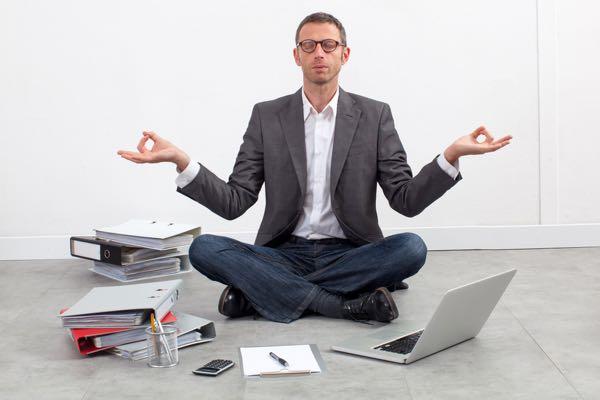 Stress releaseyoga -