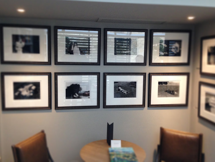BESPOKE FRAMING - Our bespoke classic gallery photographic framing service produces frames for corporate HQ's, hotels and exhibitions. We hold a great range of mouldings and can frame almost anything. We also can install the work.
