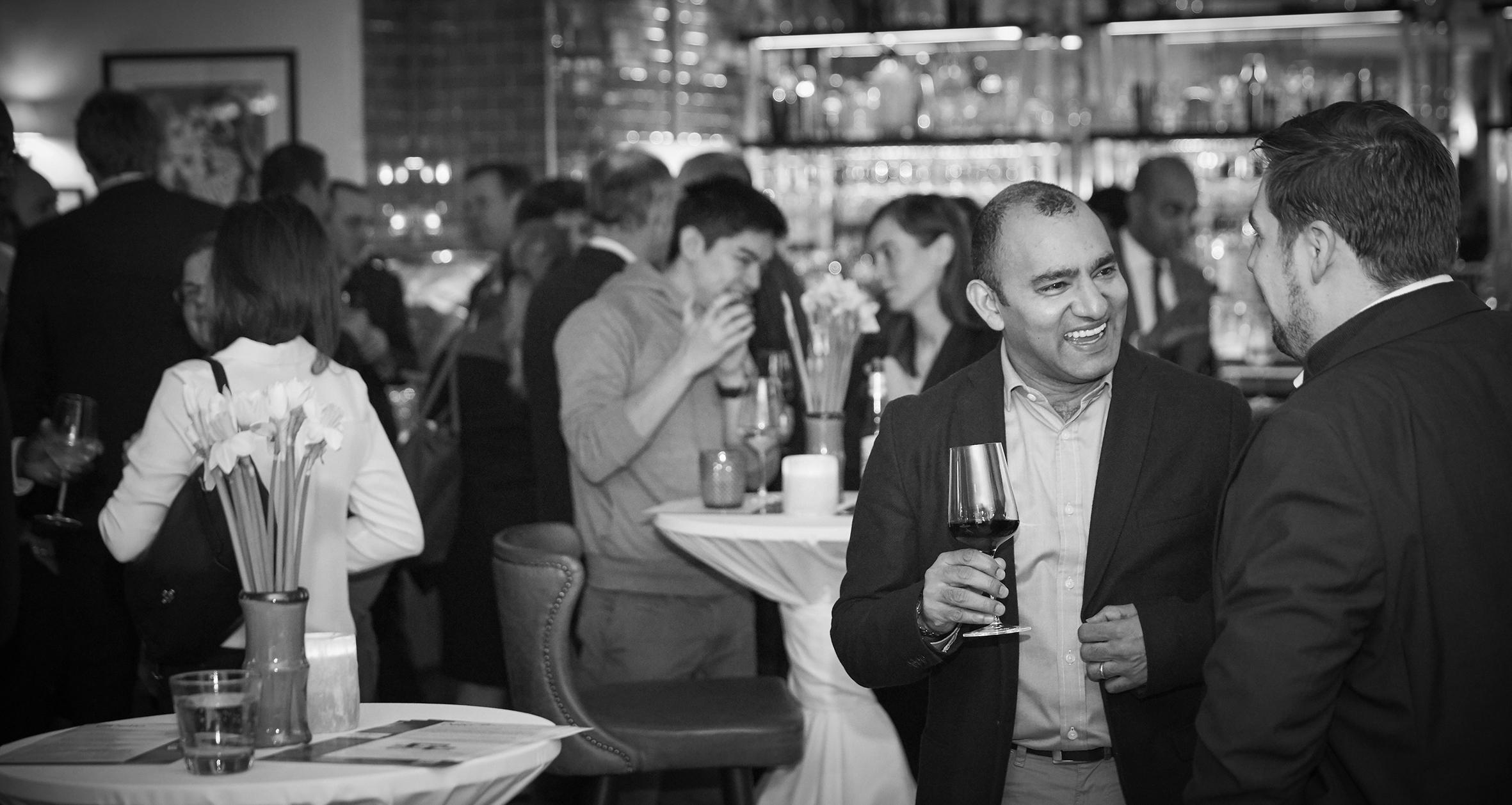 Delio Drinks Reception - DelioConnect