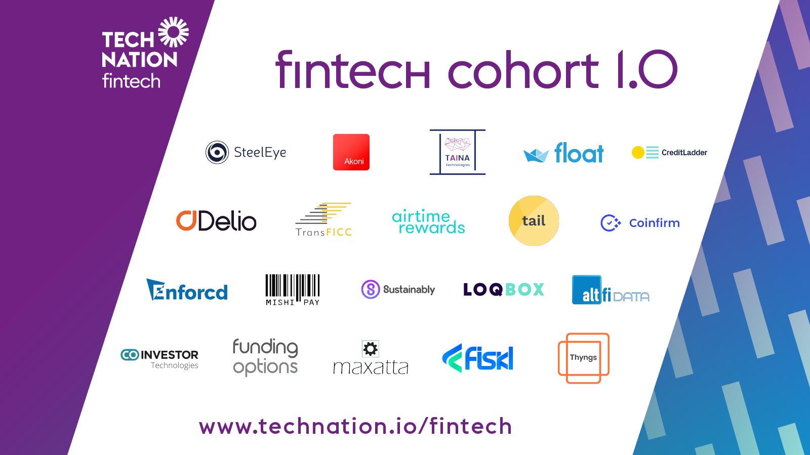 Tech Nation Names 20 UK Fintech Companies to Watch, as UK