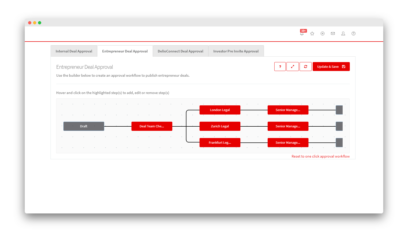 Deal Distribution - Custom Approval Workflows