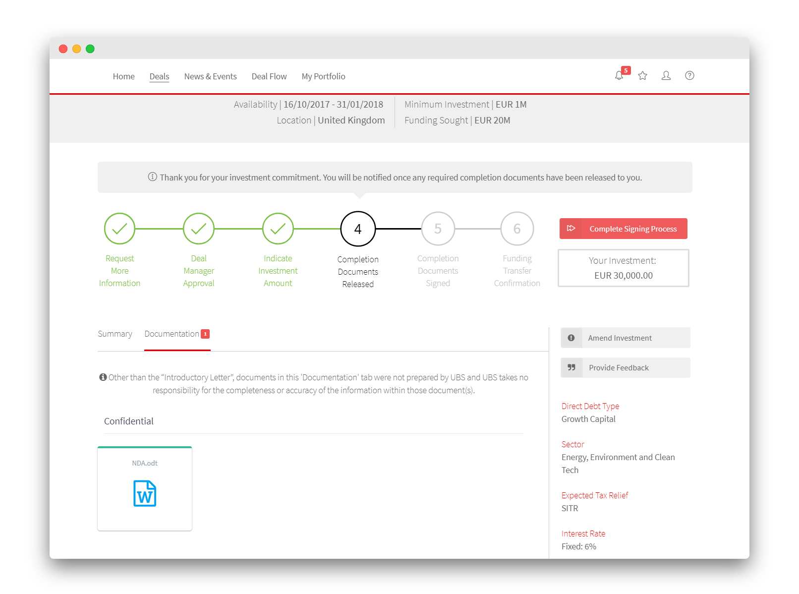 Execution - Transaction Workflows and Automated Documentation Release