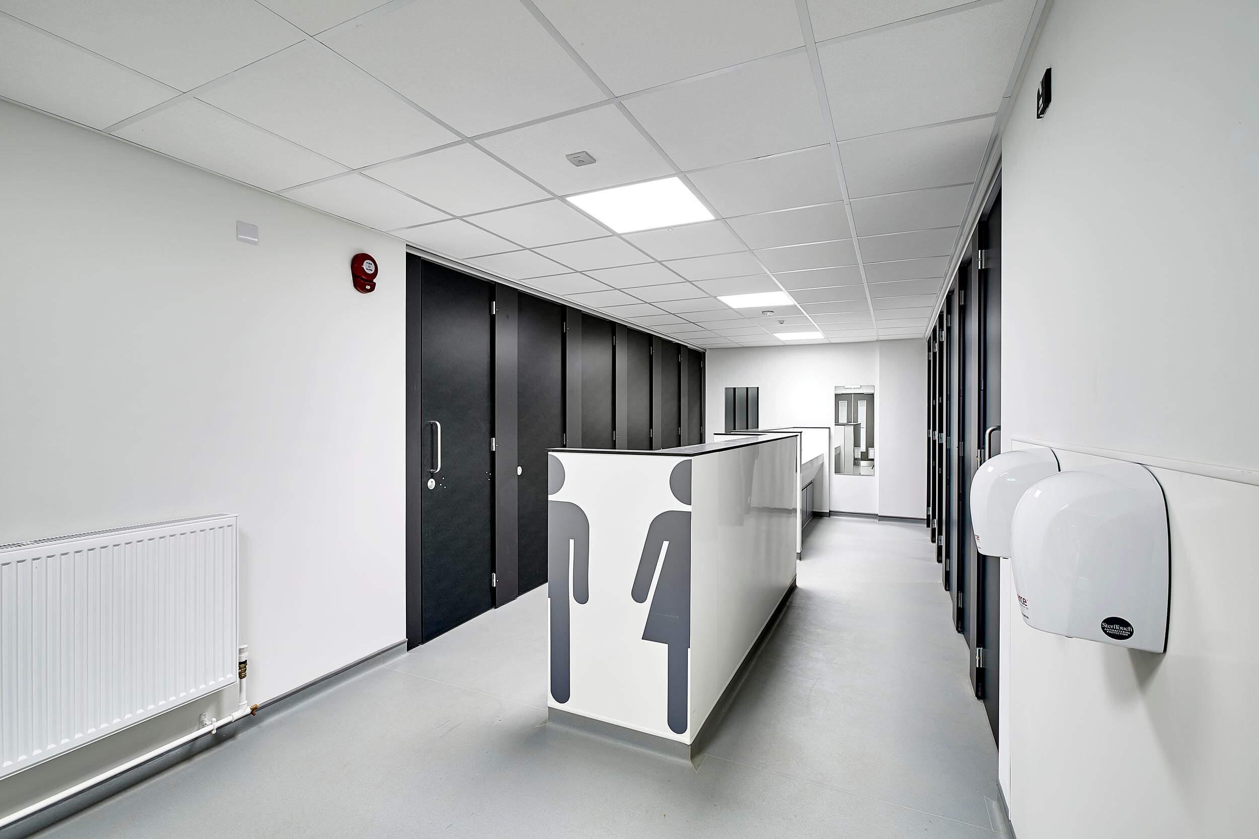 Cleeve School wash room