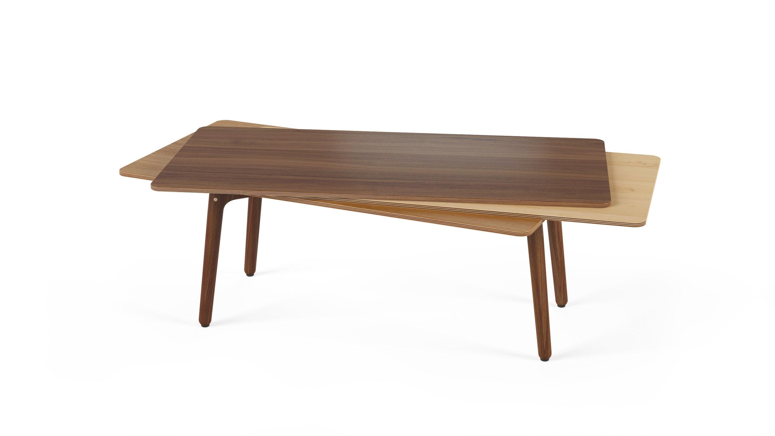 Stacked Coffee Table (Wood) - Walnut, Maple, Oak.jpg