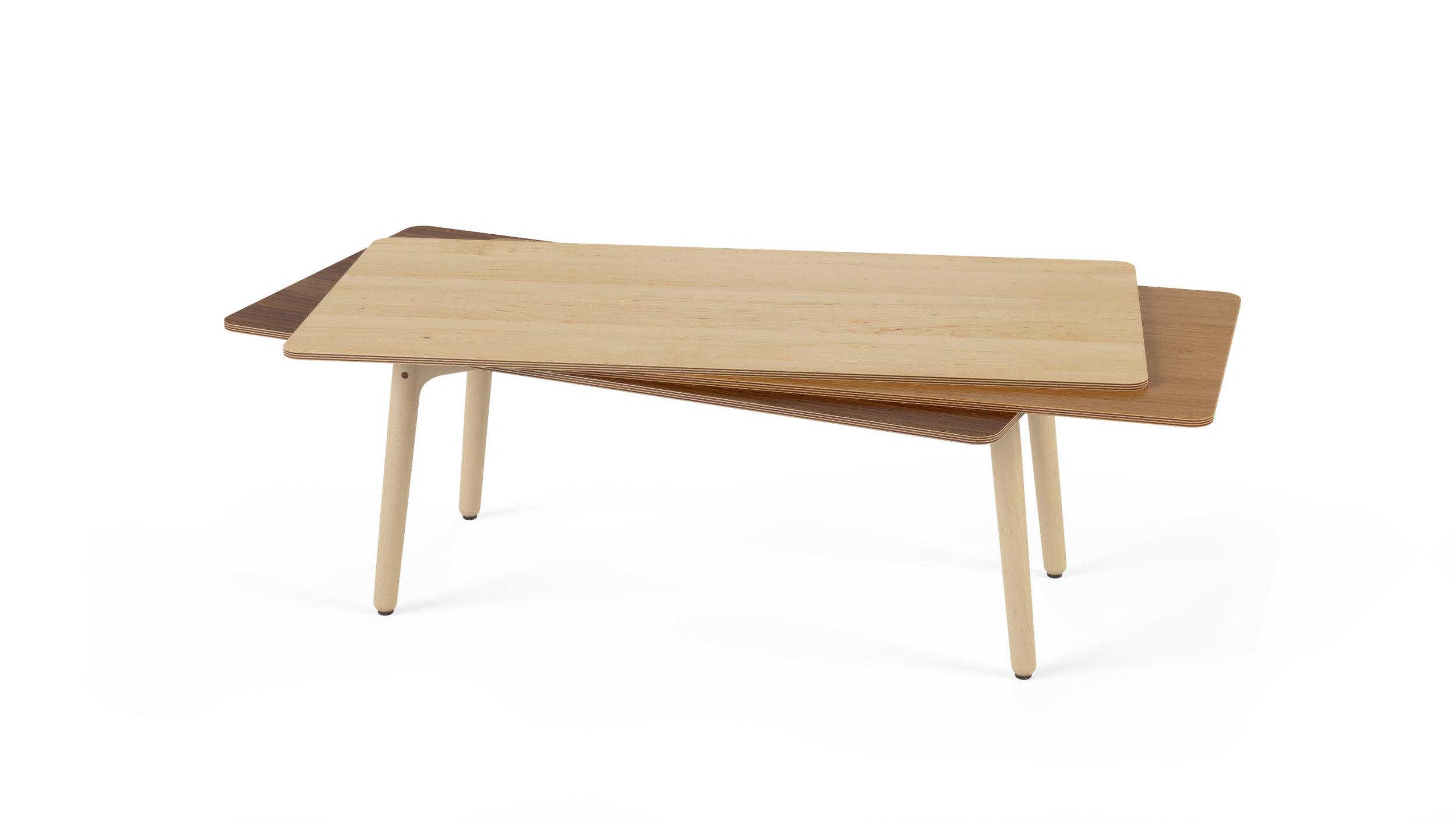 Stacked Coffee Table (Wood) - Maple, Oak, Walnut.jpg