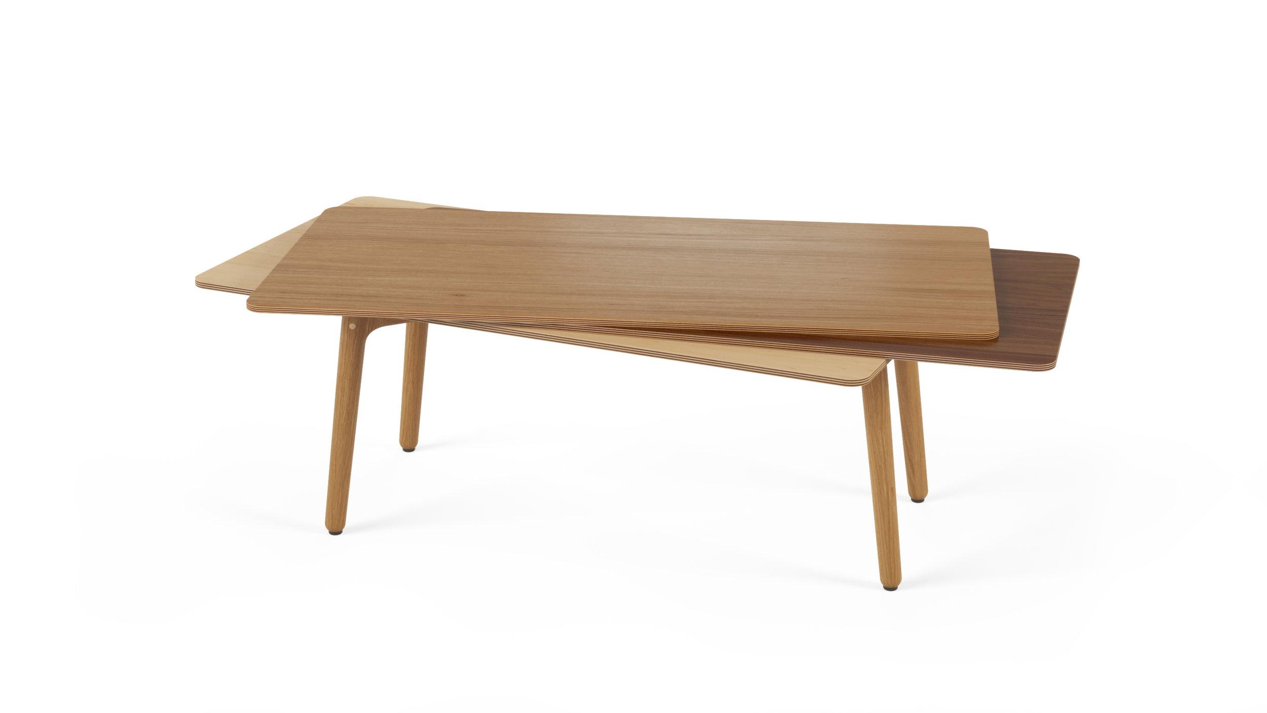 Stacked Coffee Table (Wood) - Oak, Walnut, Maple.jpg